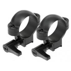 Кольца Burris .22 Deluxe pair (steel) 1'' быстросъемные, на планку 12мм