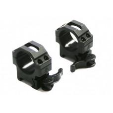 Кольца быстросъемные Leapers на Weaver на 30 мм, низкие RQ2W3104