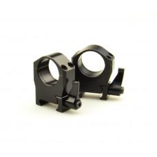 Быстросъемные кольца Luman Precision 30мм средние LP30MW сталь